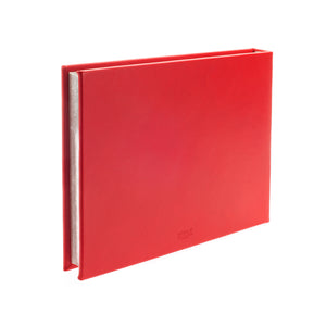 Chelsea Plain Landscape Leather Visitors Book