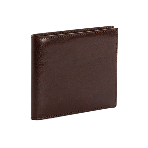 8CC Mocha Brown Calf Leather Wallet