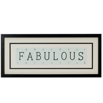 Medium FABULOUS Vintage Playing Card Frame
