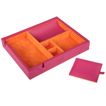 Luxury Valet Tray Fuchsia
