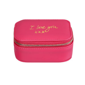 'I Love You' Trinket Box in Pink