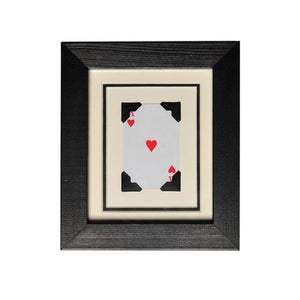 Small Vintage Playing Card Frames