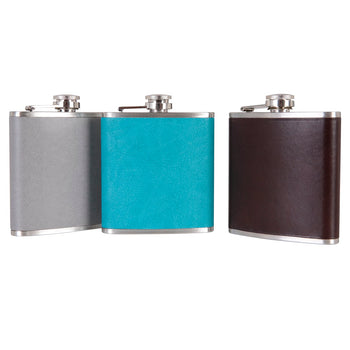 Grey Hip Flask