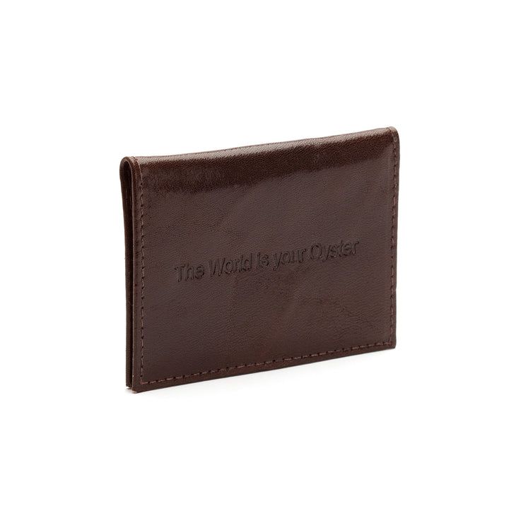 World is your Oyster - Travel Card Holder
