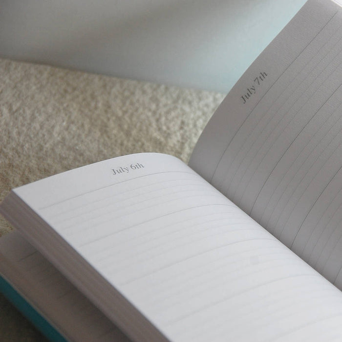 Turquoise Five Year Diary
