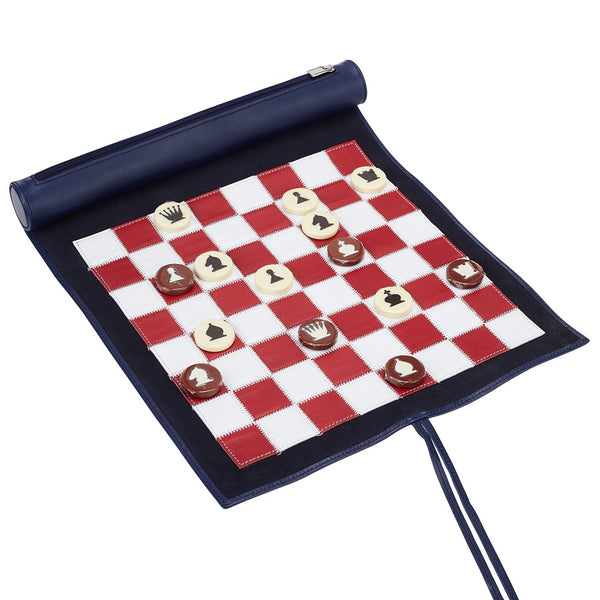 Sapphire Small Lazy Days Travel Chess Set
