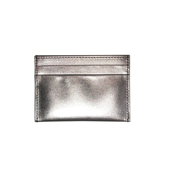 Metallic Calfskin Slim Card Case