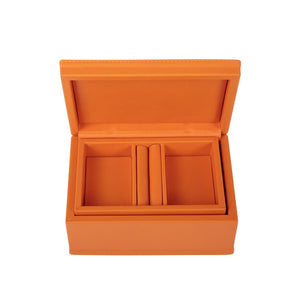 Large Jewellery Box Tangerine