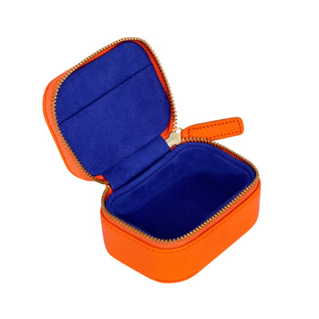 Trinket Box in Tangerine