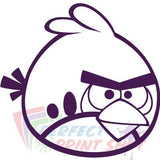 Stiker Angry Birds