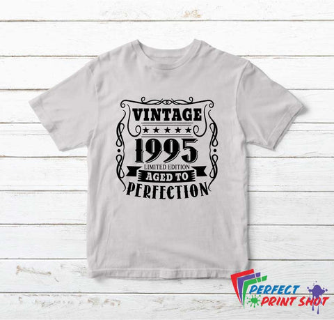 Tricou Vintage Limited Edition Aged to Perfection