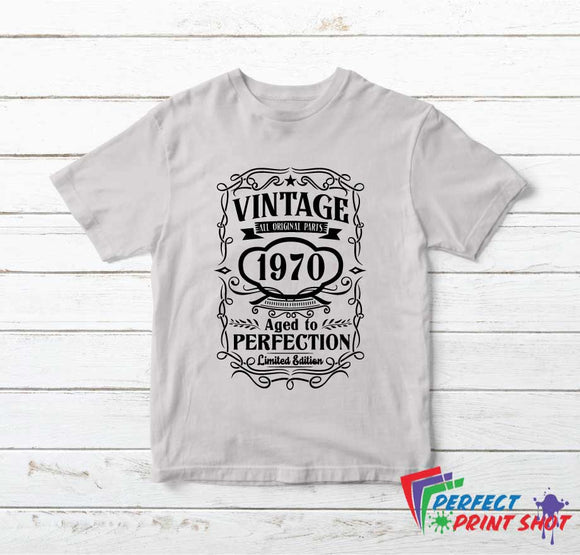 Tricou Vintage All Original Parts Aged to Perfection