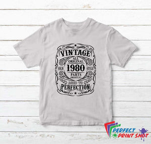 Tricou Vintage All Original Parts