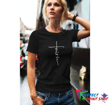 "Tricou ""Faith"""