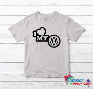 "Tricou ""I love my vw"""