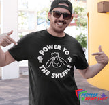 "Tricou ""Power to the Sheeple"""