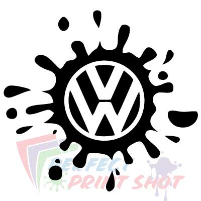 Stiker VW Splash