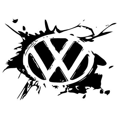 Stiker VW Splash 2