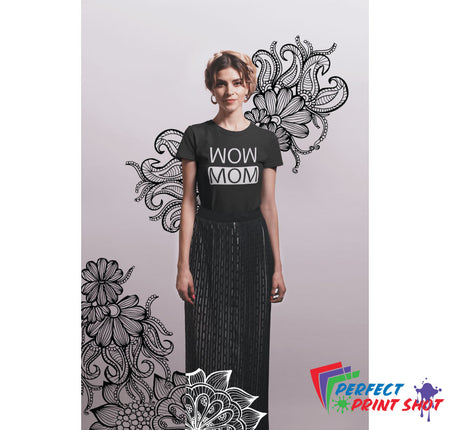 "Tricou ""Wow Mom"""