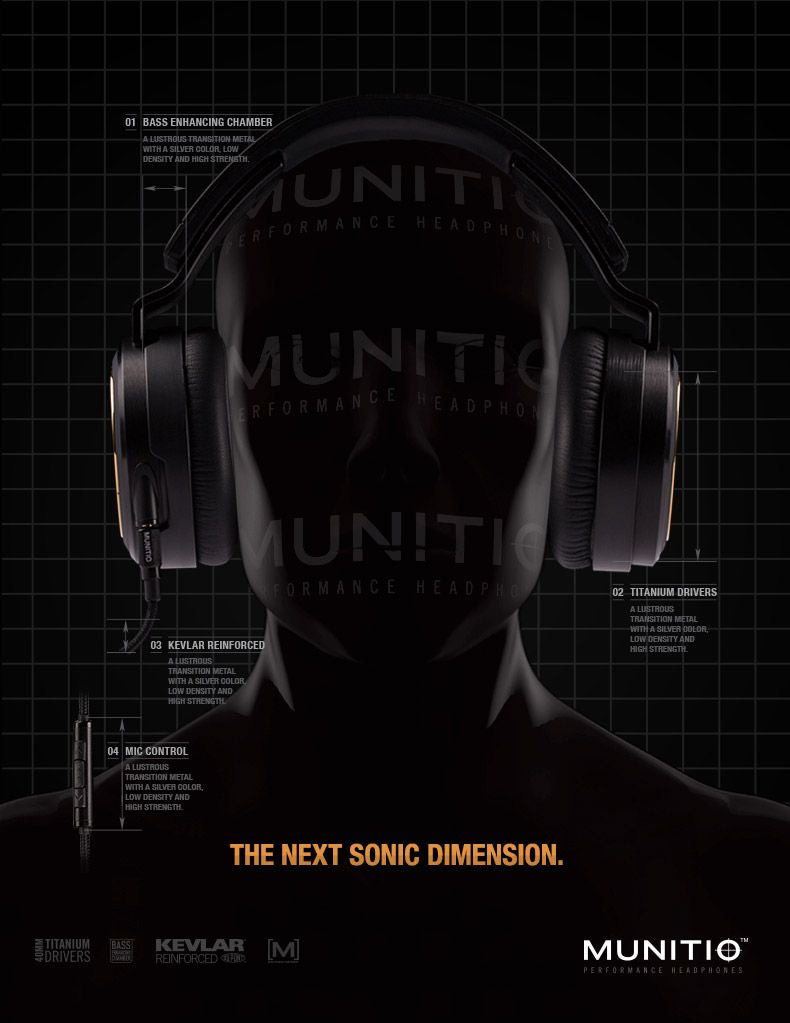 Pro40 SLV  |  High Performance Headphones - MUNITIO