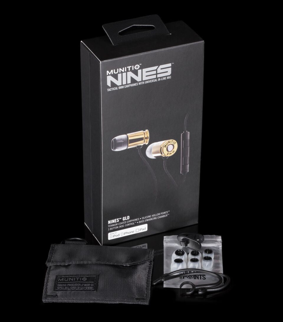 NINES GLD | In-Ear Tactical Headphones