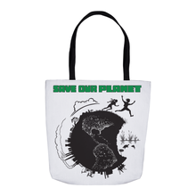 Load image into Gallery viewer, Save Our Planet Tote Bags