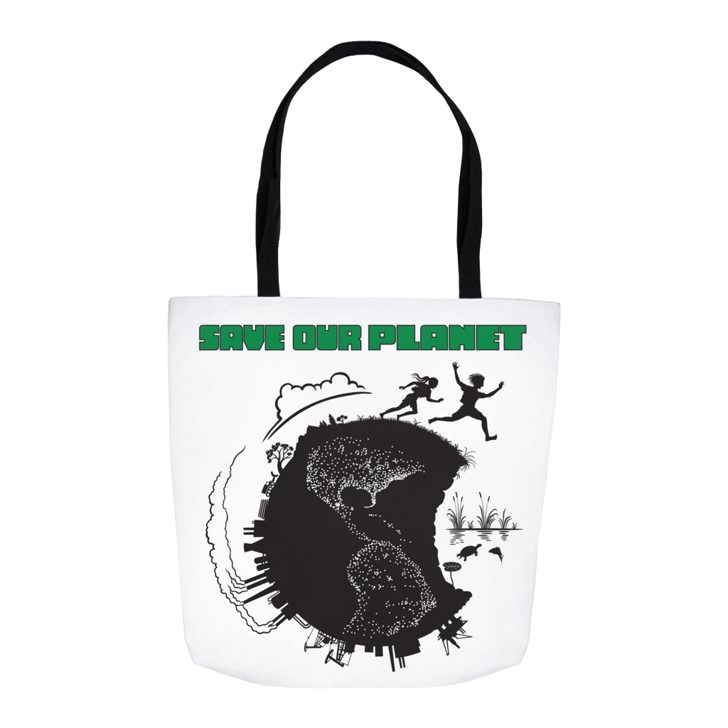 Save Our Planet Tote Bags