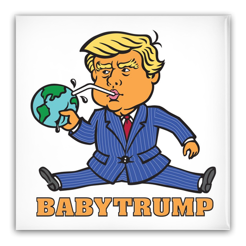 Baby Trump Pin-Back Buttons