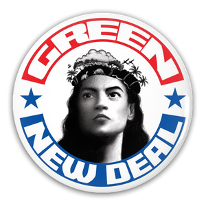 AOC/USA/Green New Deal Pin-Back Buttons