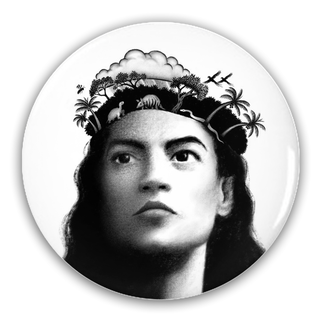 AOC/Green New Deal Pin-Back Buttons