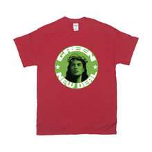 Load image into Gallery viewer, AOC/Green New Deal T-Shirts (Lime Shield)