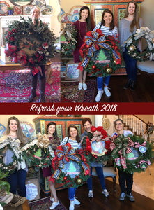 Refresh your wreath 2018!