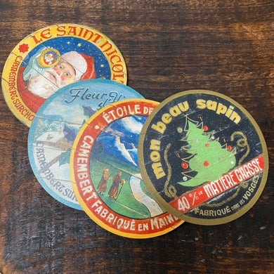 Christmas Coasters assortment (set of 4)