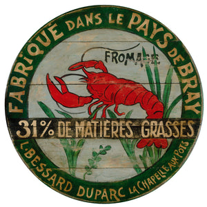 "Lobster 15"" or 23"" Wall Art or Lazy Susan"