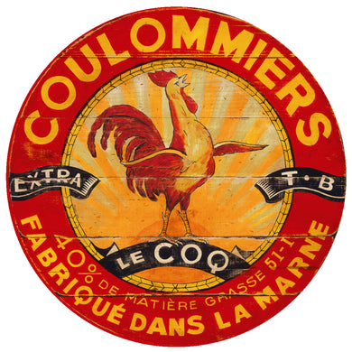 Coulommiers Sun Rooster art by Darrellene Designs