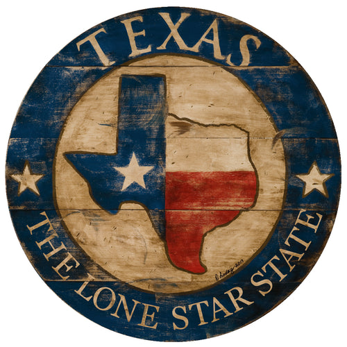 Texas State Art by Darrellene Designs