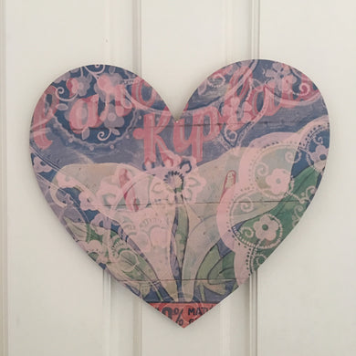 Heart Board Calla Art