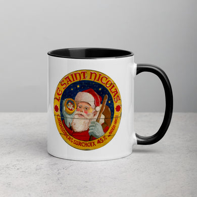 Santa Mug with Color Inside