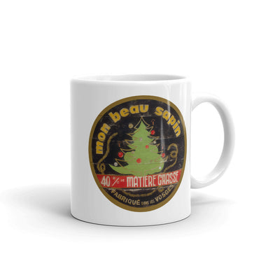 Christmas Tree White Glossy Mug