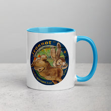 Brown Rabbit Mug with Color Inside