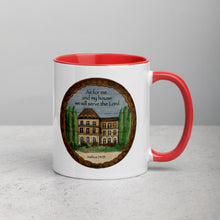 Serve the Lord Mug with Color Inside