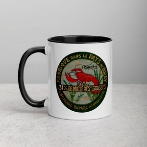 Red Lobster Mug with Color Inside