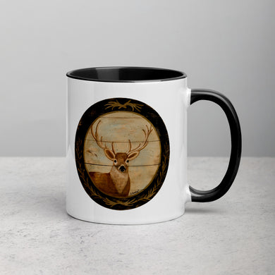 Deer Mug with Color Inside
