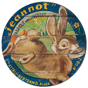 "Rabbit with Cheese 15"" or 23"" Wall Art or Lazy Susan"