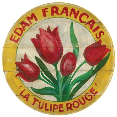 Red Tulip with Yellow border 15