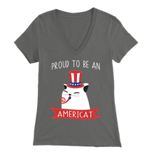 Load image into Gallery viewer, Asphalt PROUD TO BE AN AMERICAT Women