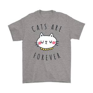 CATS ARE FOREVER GRAY FOR MEN