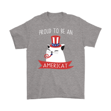 Load image into Gallery viewer, Sport Grey PROUD TO BE AN AMERICAT Men