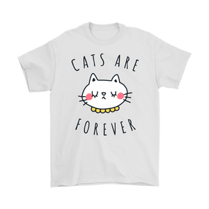 CATS ARE FOREVER WHITE FOR MEN