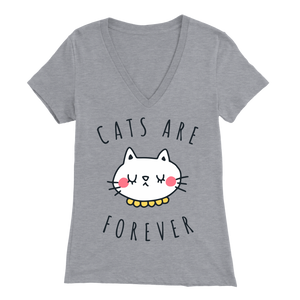 Cats Are Forever Gray for Women
